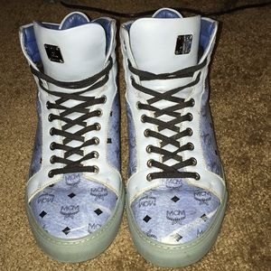 Mcm high top shoes
